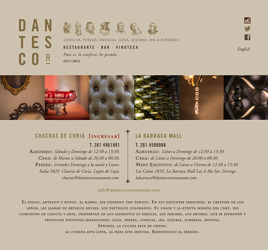 Dantesco Restaurante